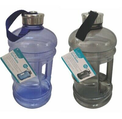 New 2.2L Big Large BPA Free Sport Gym Training Drink Water Bottle Kettle Camping • 4.99£