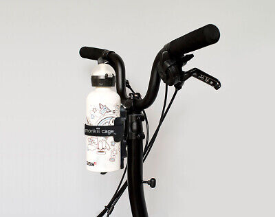 Monkii Clip B + Monkii Cage - Brompton Water Bottle Cage System • 36.95£