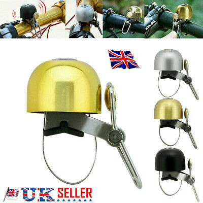 BELL Bicycle Mountain Bike Copper Bell High Quality Loudly Speaker New • 6.49£