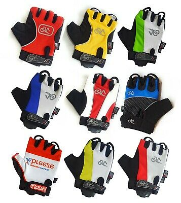 Half Finger Cycling Gloves Bike Gel Padded Fingerless Cycle Gloves Anti-Slip • 5.99£