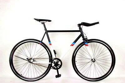 Brand New Single Speed/Fixed Gear Flip Flop Hub Black Road Bicycle • 199£