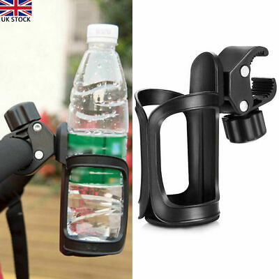 360° Rotation Bike Bicycle Bottle Cage Handlebar Mount Drink Water Cup Holder • 8.49£