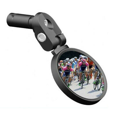 UK  Bicycle Bike Cycle Handlebar Rear View Rearview Mirror Reflector Back • 11.59£