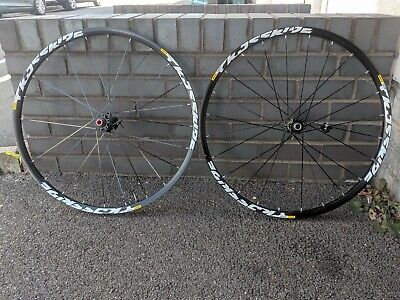 Mavic Crossride 27.5 (boost) Tubeless Ready Wheelset • 160£