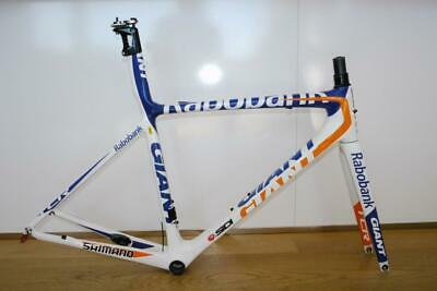 Giant Tcr Advanced Sl Rabobank Race Frame In Size Medium In Very Good Cond • 649£