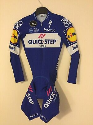 Used Quick Step Cycling Skinsuit. Team Issue 2018.  Vermarc. S - 2 - 46. • 65£