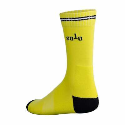 Solo Winter Cycling Socks Twin Pack RRP £22.00 • 7£