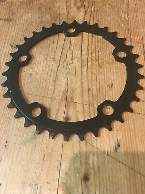 Brand New 34t Tooth Inner Compact Chainset Chainring - 110BCD - 5 Hole - STEEL • 6£