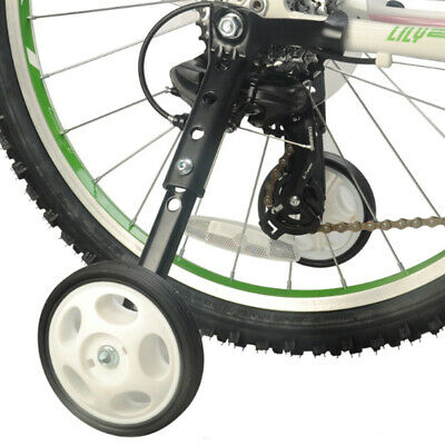 1 Pair Durable Bike Stabilisers Kids Mountain Bicycle Auxiliary Wheels 6-24 Inch • 18.99£