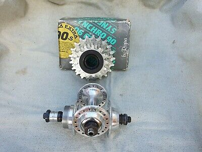 Vintage Specialized Sealed Bearing Hubs 36 Hole & NOS Regina 7 Speed Freewheel. • 85£
