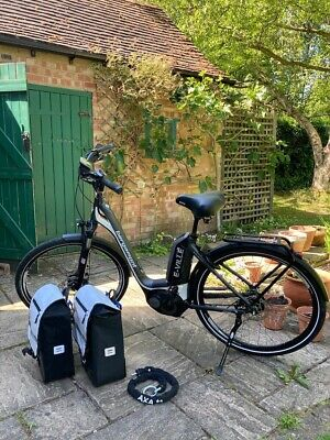 Bergamont E-Ville A8 Electric Bike - Bosch Motor - Panniers & Charger- Superb • 1,081£