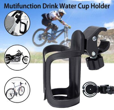 360° Rotation Bike Bicycle Bottle Cage Handlebar Mount Drink Water Cup Holder  • 7.59£
