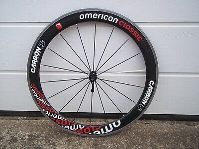 American Classic, Carbon Front Wheel, 58mm Carbon Rim, With Skewer,  • 40£