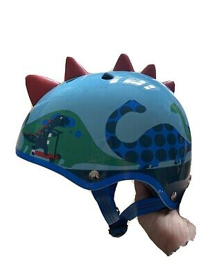Micro Scooter/bike Kids Helmet Size Small 48-54cm Dinosaur • 4.80£
