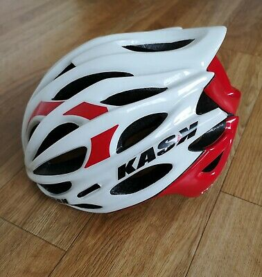 KASK Mojito Cycling Bike Helmet, Red & White - Medium • 9.99£
