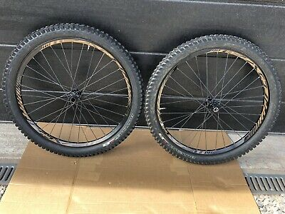 """26"""" Mountain Bike Wheels And Tyres Disc Ready Wheelset 20mm,12mm Axle • 29£"""