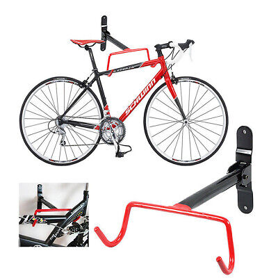 Bike Bicycle Wall Mounted Rack Storage Hanger Holder Hook Folding Space Saver • 6.59£