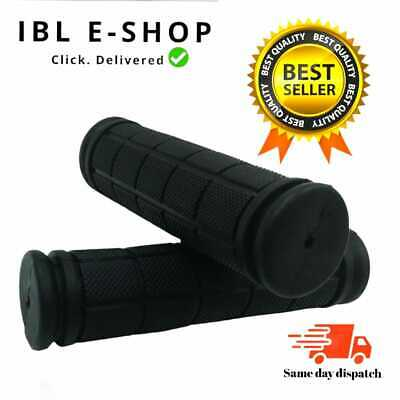 Bicycle Hand Grips Handlebar Black Non Slip Mountain Bike Rubber Soft Bmx Mtb Uk • 2.99£
