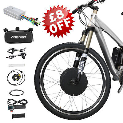 48V 1000W Electric Bicycle Motor Conversion Kit Front Wheel Bike Cycling Hub 26  • 149.99£