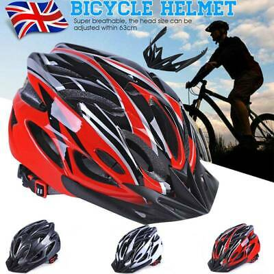 Protective Adult Road Cycling Safety Helmet MTB Mountain Bike Bicycle Men Women • 10.99£