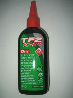 Weldtite TF2 PLUS+ Dry Lube / Lubricant With Teflon Cycle / Bike 125ml • 5.90£