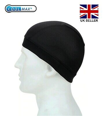 Cycling Skull Cap Winter Under Helmet Liner Cycle Windstopper Thermal One Size • 3.99£