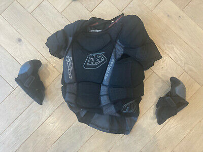 Troy Lee Designs Youth Protective Shirt And Elbow Guards • 55£