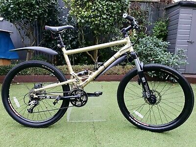 Mongoose Canaan Comp Mountain Bike, With Full Suspension, Disk Brakes Etc • 200£
