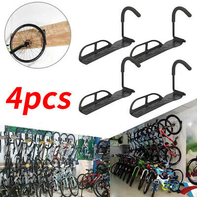 4PCS Bike Storage Wall Mounted Hook Bicycle Steel Rack Holder Garage Stand UK • 9.07£