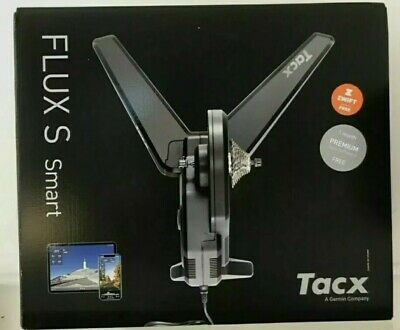 Tacx Flux S Smart Home Trainer Interactive Compact Indoor Cycling BRAND NEW • 770£