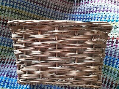 Large Wicker Pashley Style Bicycle Front Basket-collection Lancs • 14.99£
