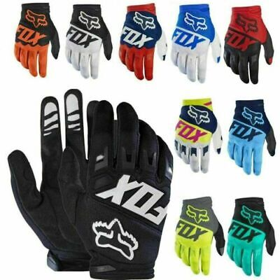 New FOX Gloves Racing Motorcycle Gloves Cycling Bicycle TMD MTB Bike Riding • 12.95£