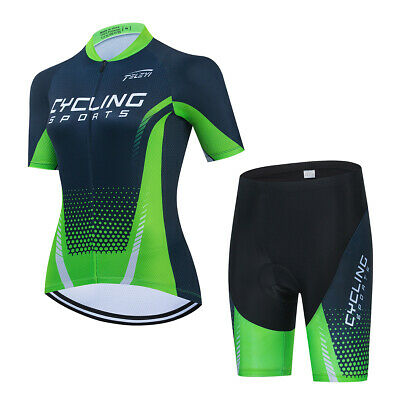 Women's  Cycling Clothing Kit Sportswear Women's Bike Jersey Shorts Set • 28.99£