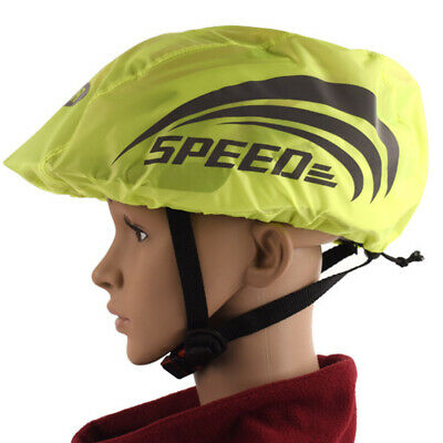 Bike Bicycle Helmet Cover Cycling Reflective Safety Windproof Accessories • 4.27£