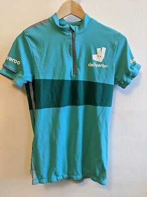 Deliveroo Cycling Jersey - Size Small - Great Condition • 15.90£