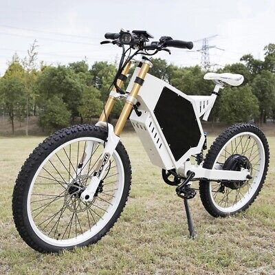 Electric Bike 3000W/48V Bicycle Scooter Mountain Bike 70-80km Stealth Bomber • 2,355£