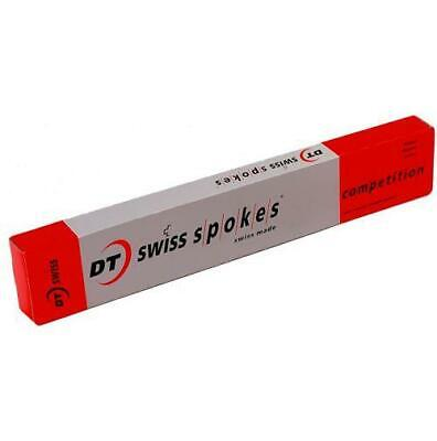 100 Dt Swiss Competition 2.0mm Double Butted Spokes Silver £13.95 Limited Sizes! • 13.95£