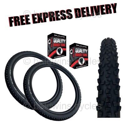26  X 2.10 SCHWALBE BLACK JACK Puncture Protection KNOBLY Bike / Cycle Tyre • 34.99£