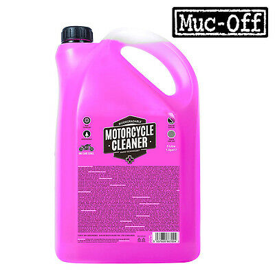 NEW STYLE | Muc-Off Nano Tech Bike Motorbike Motorcycle Cleaner Road Mountain 5L • 19.94£