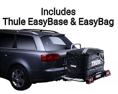 Thule EasyBase & EasyBag Tow Bar Ball Mounted Storage Cargo Rack & Bag • 419.95£