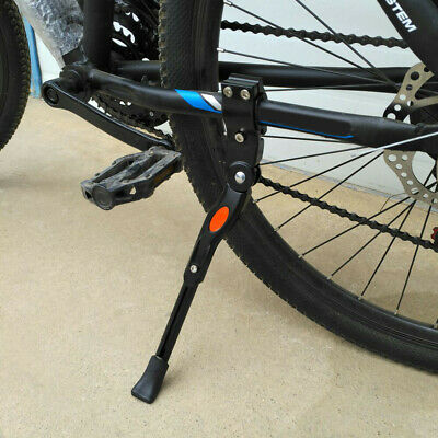 Heavy Duty Adjustable Mountain Bike Bicycle Cycle Prop Side Rear Kick Stand UK • 14.69£