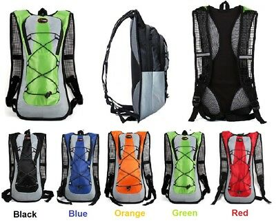 Light Backpack Cycling Running Hiking New Rucksack Great For Water Bladder • 28£