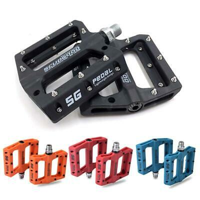 Portable Mountain Bike Bicycle Pedals Nylon Fiber Road Bike Bearing Pedals Parts • 18.99£