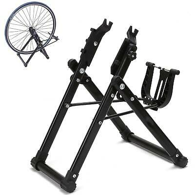 Cycling Bike Wheel Truing Stand Bicycle Wheel Maintenance Aluminum Alloy New • 19.99£