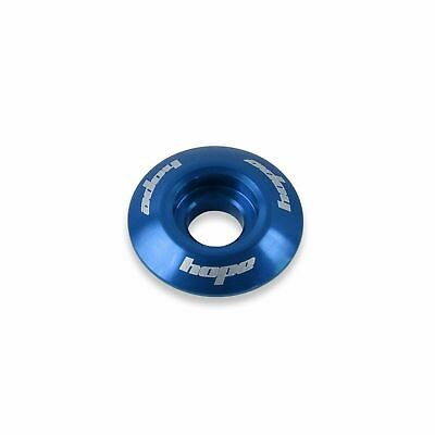 Hope Tech Headset Bike Stem Top Cap - Blue | MTB Mountain Bike • 6.45£
