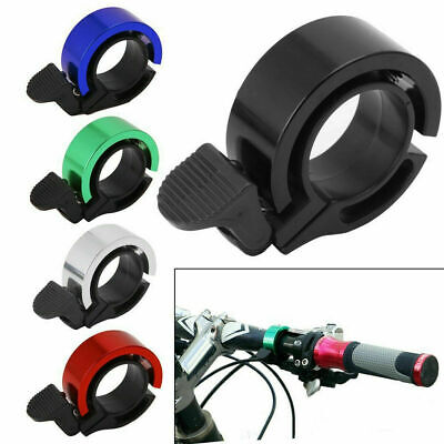 Bicycle Bell Aluminum Alloy Bike Bell MTB Handlebar Alarm Ring Invisible Q Bell • 3.99£