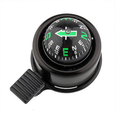 New Bike Road Bicycle Cycling Handlebar Bell Ring Horn With The Compass  EH • 4.47£