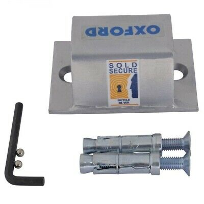 Oxford High Security Ground And Wall Anchor 10 LK395 Bike Security Padlock • 17.95£