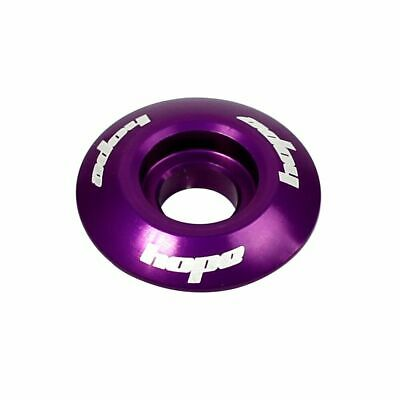 Hope Tech Headset Bike Stem Top Cap - Purple | MTB Cycling Mountain Bike • 5.95£