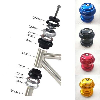 Cycling External Bearing 34mm Headset Aluminum Alloy For MTB Road Mountain Bike • 11.41£